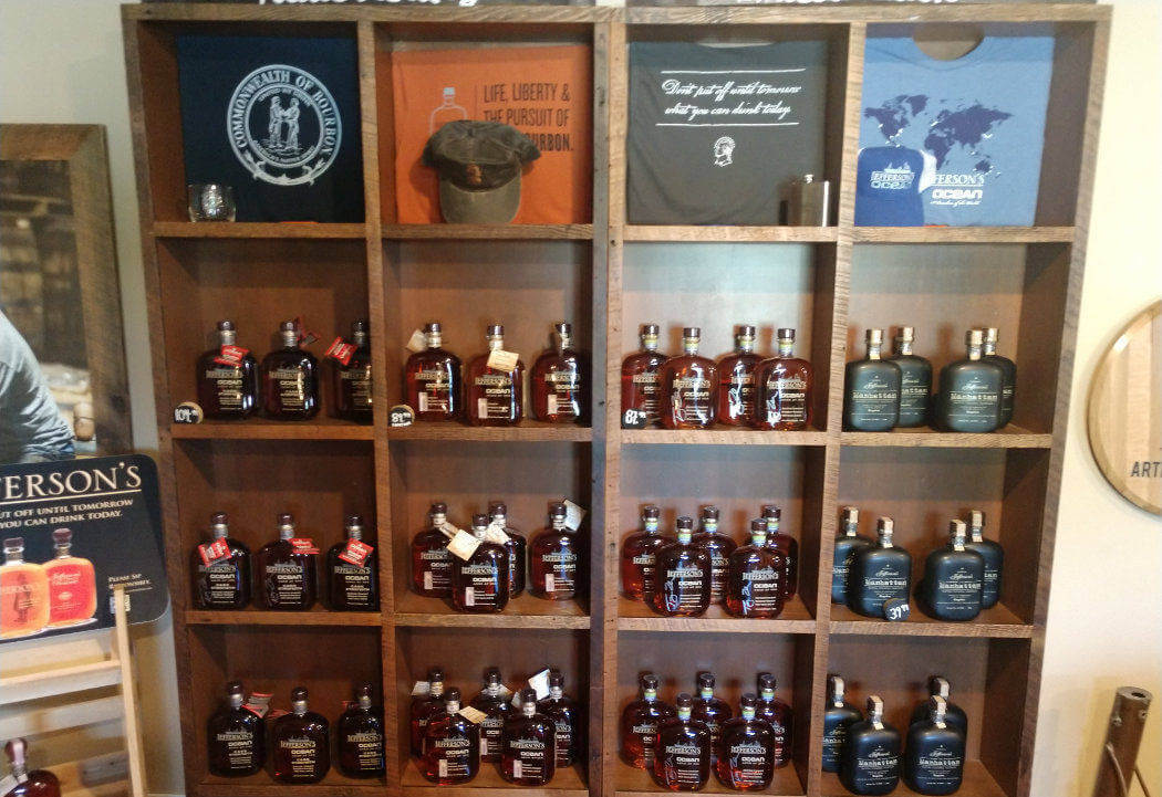 kentucky artisan distillery sales