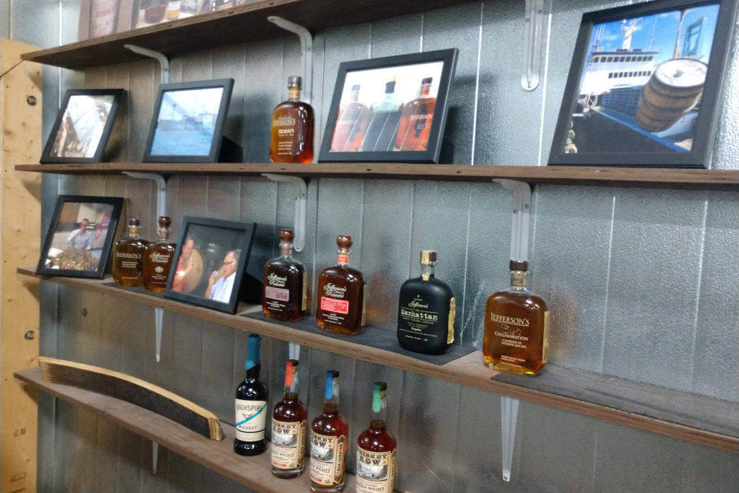 kentucky artisan distillery wall