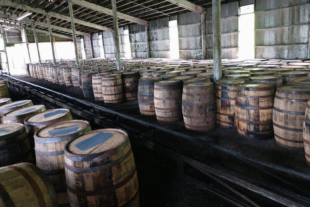 kentucky bartons 1792 empty