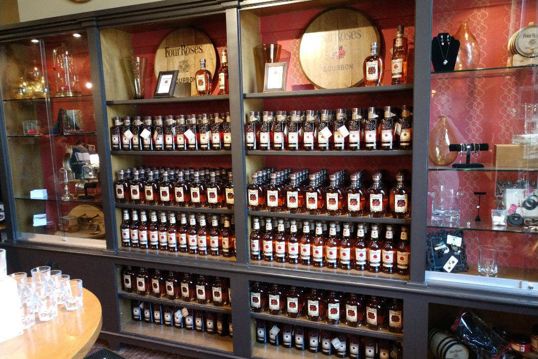 kentucky four roses gift shop
