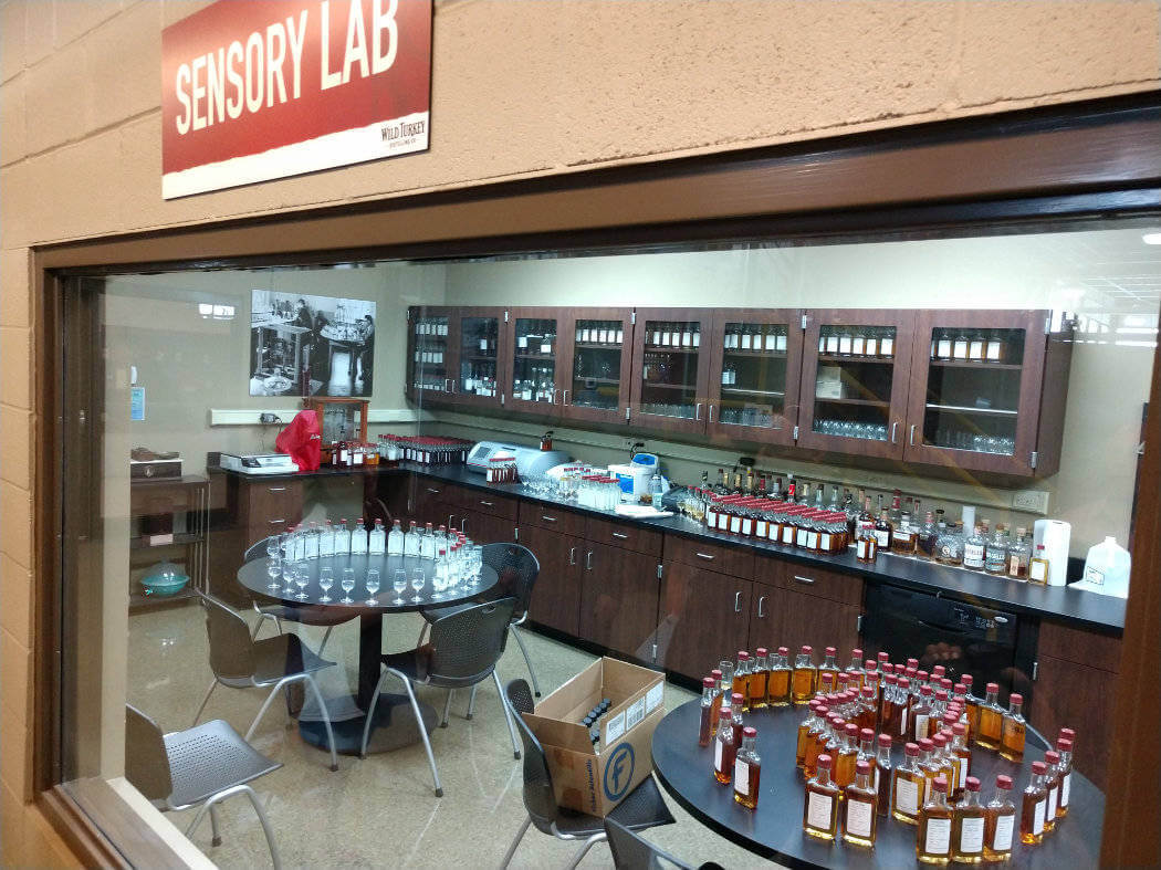 kentucky wild turkey sensory lab