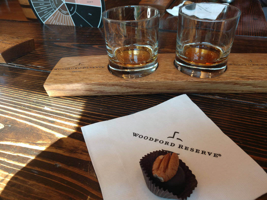 kentucky woodford reserve tasting