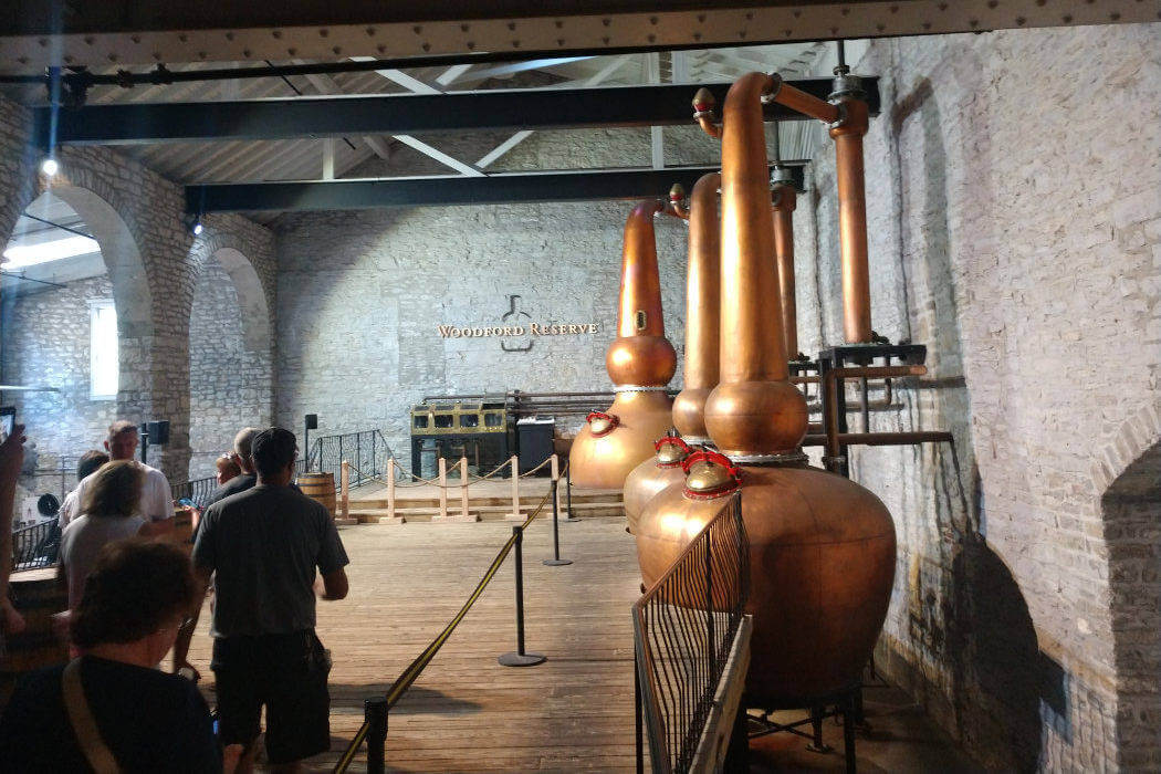 kentucky woodford reserve triple stills