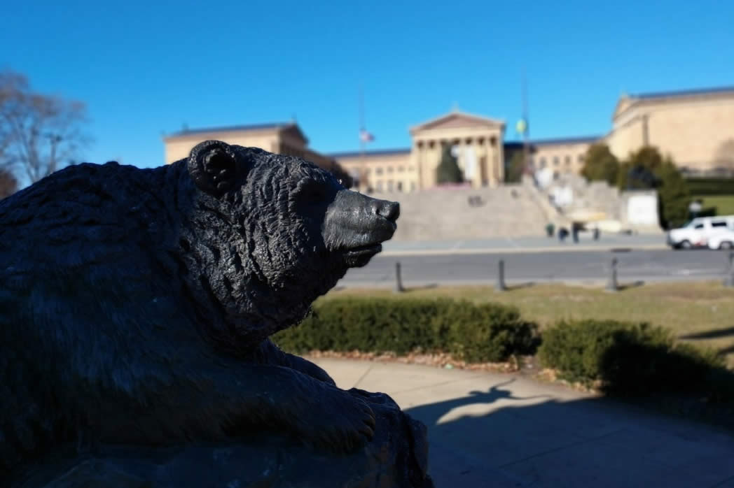 Art Museum of Philadelphia and The Oval Bear