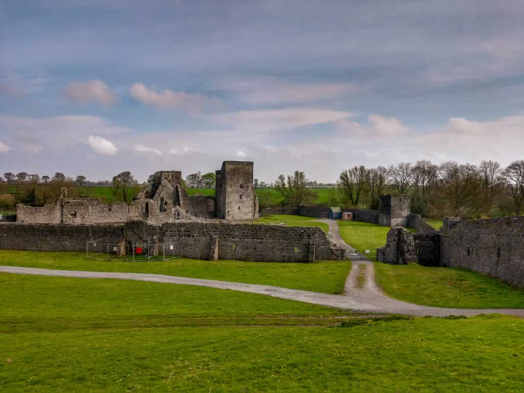 Kells Priory Ireland upper view