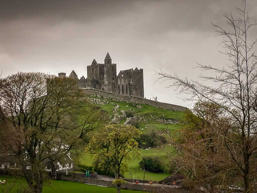 Rock Of Cashel Ireland St Patrick 1 moody view