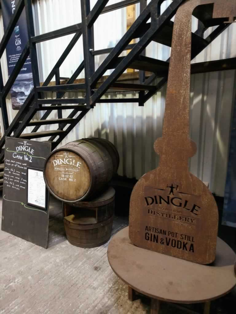 Wild Atlantic Way Ireland Dingle Distillery Entrance