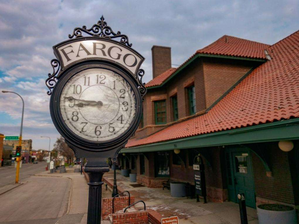 North Dakota Fargo Train Station