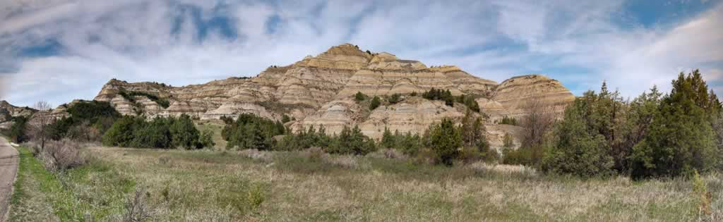 North Dakota Theodore Roosevelt National Park North Unit Panorama 1
