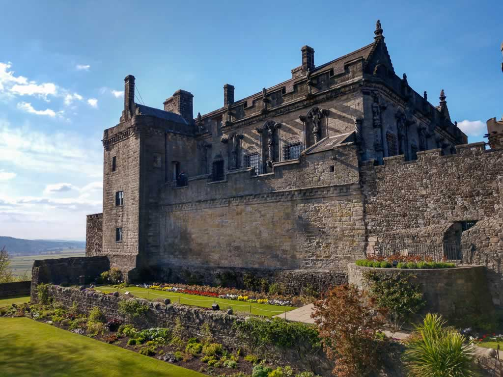 The Royal Palace of Stirling Castle (and gardens)