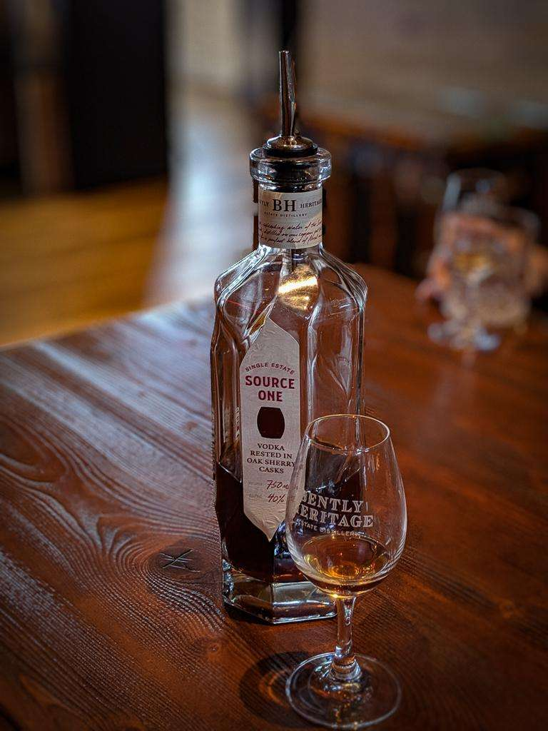 bently heritage source one vodka sherry cask