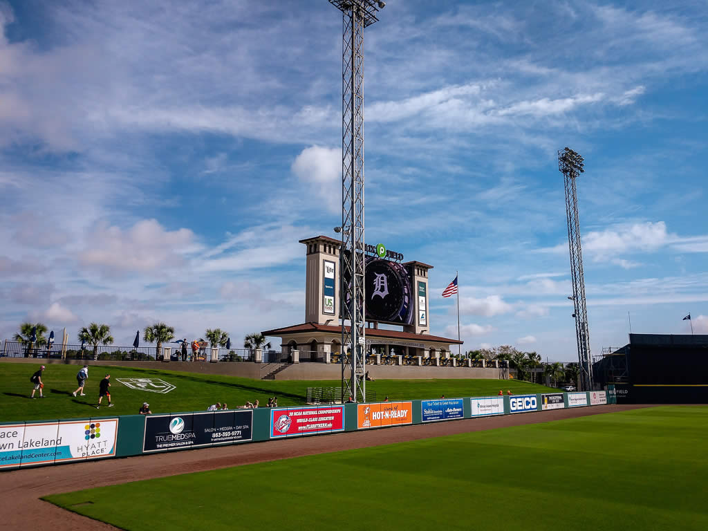 Florida Spring Training - The Berm at Joker Marchant Stadium