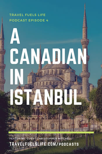 canadian in istanbul