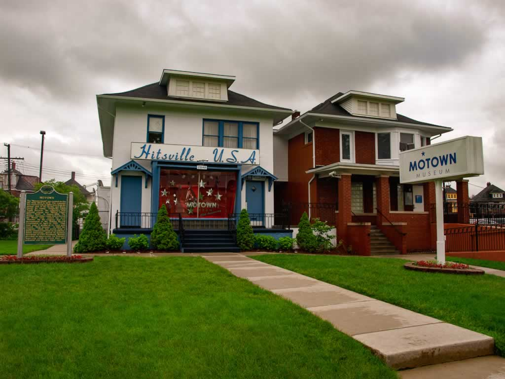 Michigan Motown Museum Hitsville USA