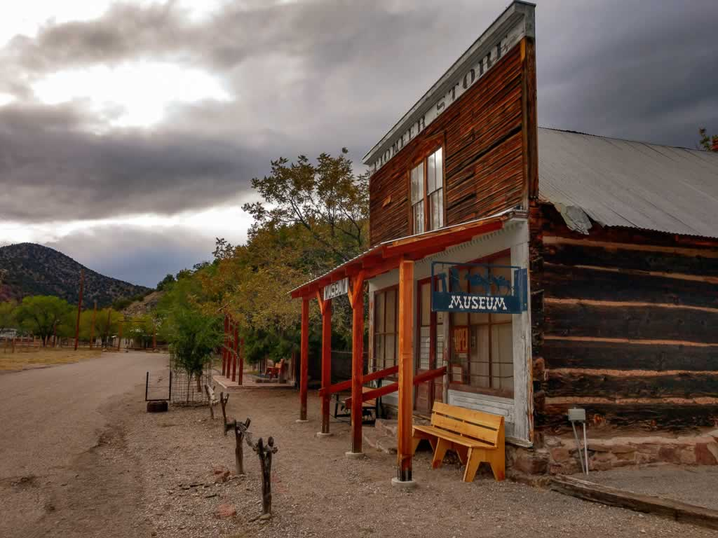 New Mexico Chloride Ghost Town
